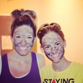 Facial masks.