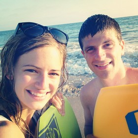 Boogie boarding is our new favorite.